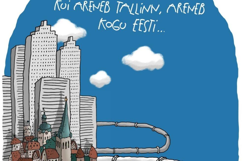 KARIKATUUR | Tuleviku Tallinn