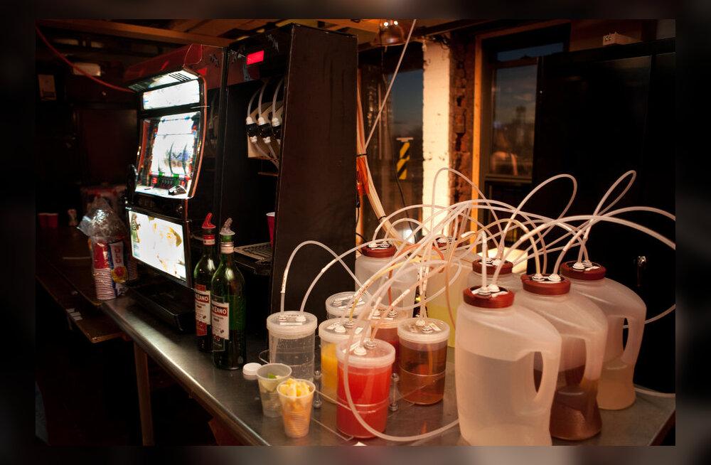 Robotid baarileti taga - kas meelelahutusäri lähitulevik?