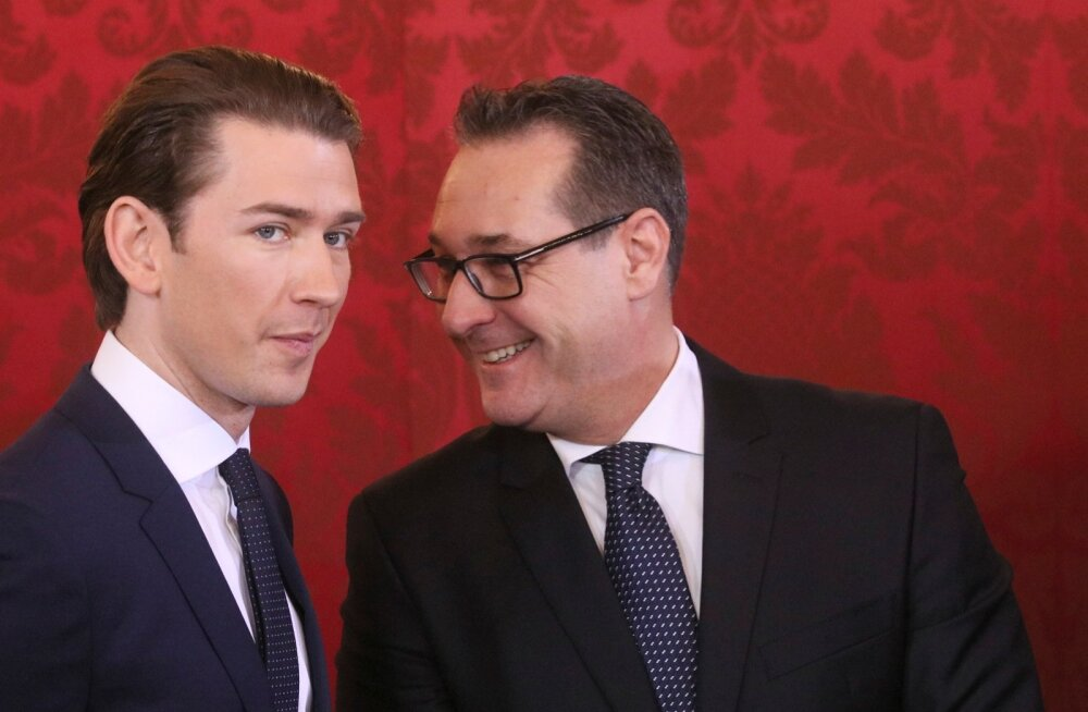 Austria kantsler Sebastian Kurz ja asekantsler Heinz-Christian Strache peavad nüüd tõestama, et jätkavad Euroopaga ühel lainel.