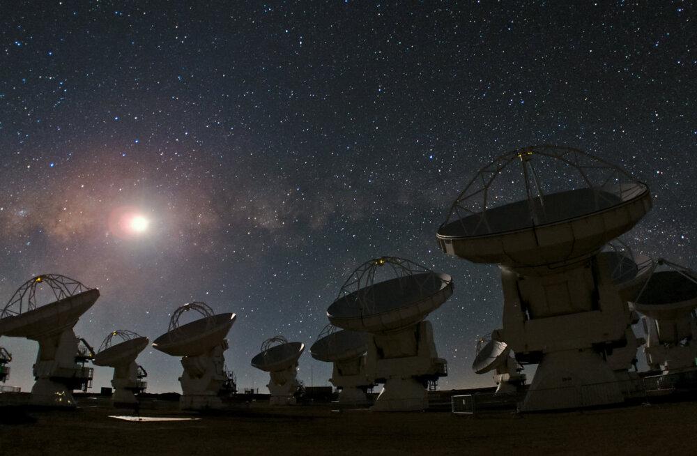 Uus uuring: tundub, et inimesed on universumis siiski üksi...