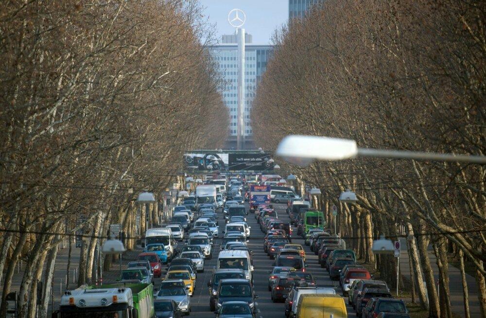 Saksa kohus: linnadel on õigus diiselautod keelustada