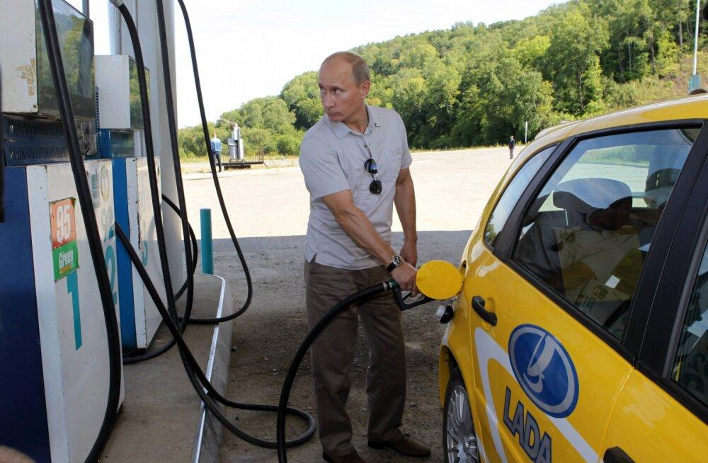 Kas jälle Venemaa presidendiks pürgiv Vladimir Putin on ka rikas mees?
