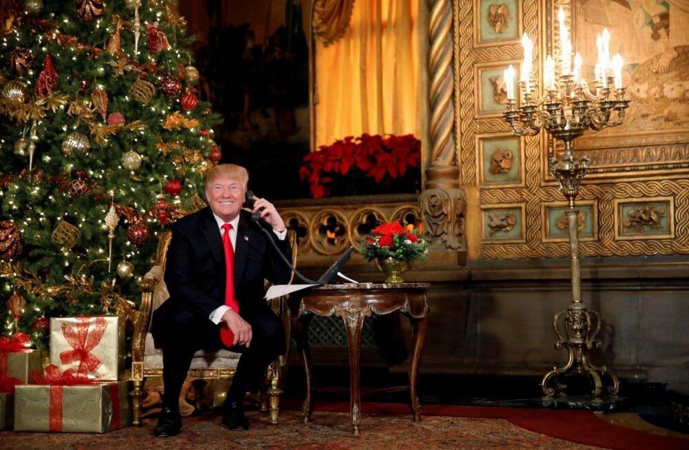 Tühja sest USA juhtimisest: Donald Trump veedab suure osa ajast mõnes oma luksuskuurordis golfi mängides