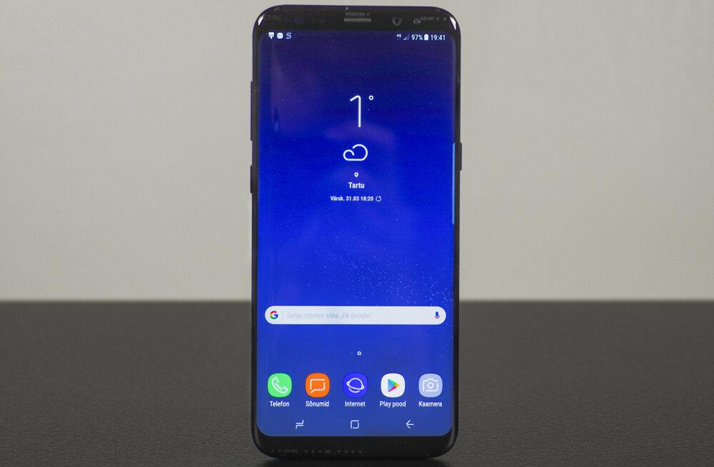 TEST: Samsung Galaxy S8 Plus – vastuoluline nutitelefon