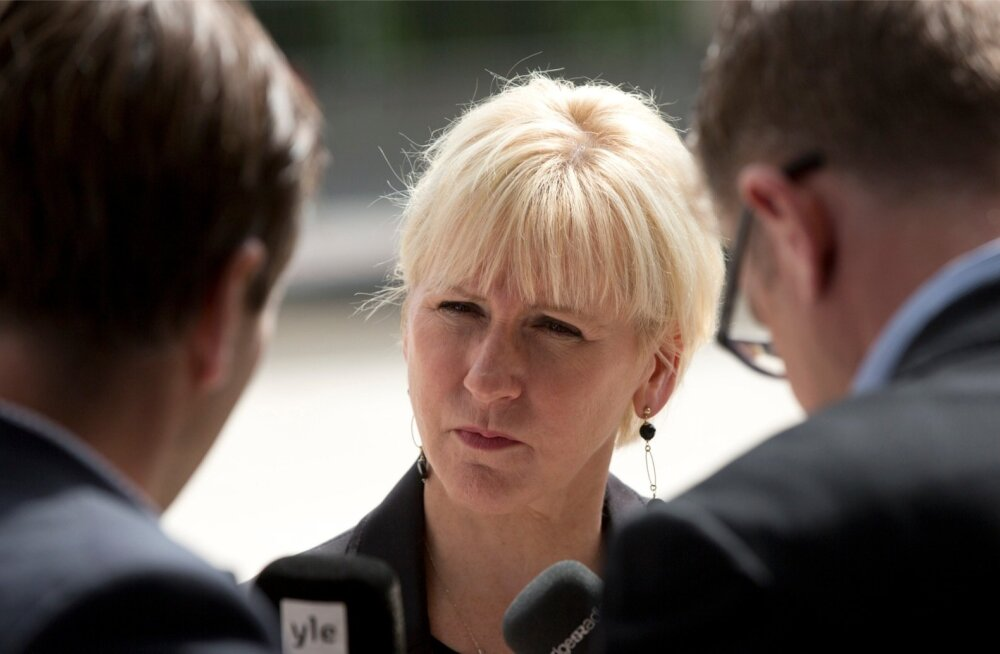 Rootsi kutsub Vene saadiku vaibale: meile ei meeldi, kui meid ähvardatakse