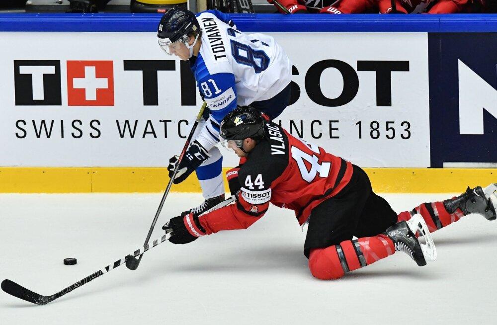 VIDEO | Soome näitas Kanadale koha kätte, Venemaa alistas napilt Šveitsi