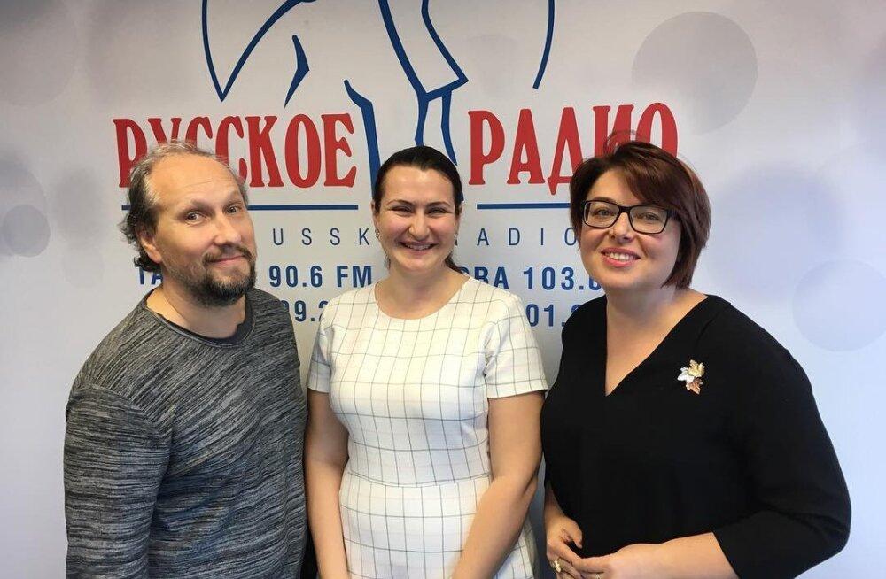"""О тортах и сексе в утренней программе """"Полный вперёд!"""" на """"Русском Радио"""""""