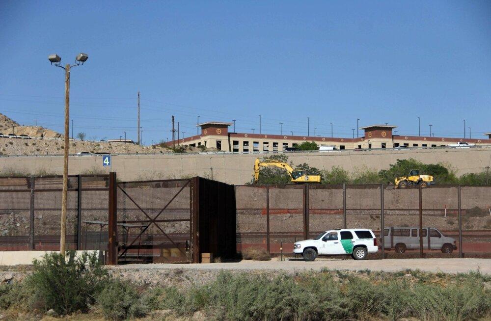 Trump saadab USA-Mehhiko piirile rahvuskaardi