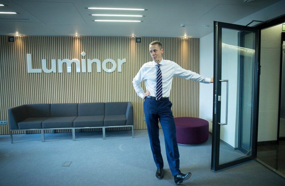 Luminori juht Erkki Raasuke ütleb, et Blackstone'i saamine panga suuromanikuks strateegiamuutust kaasa ei too.