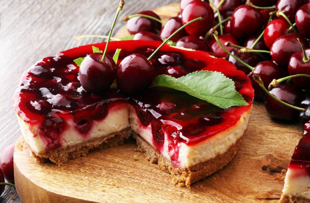 ARVO KOKAKOOL | Pidulik kirsi-juustutort
