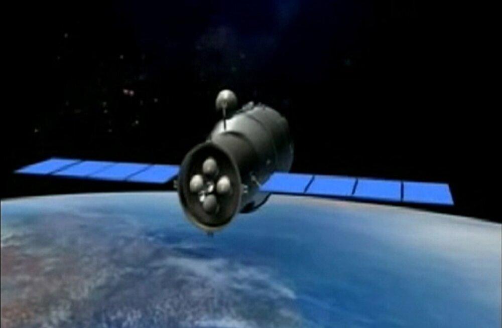 Tiangong-1 2011. aasta animatsiooni kaadris