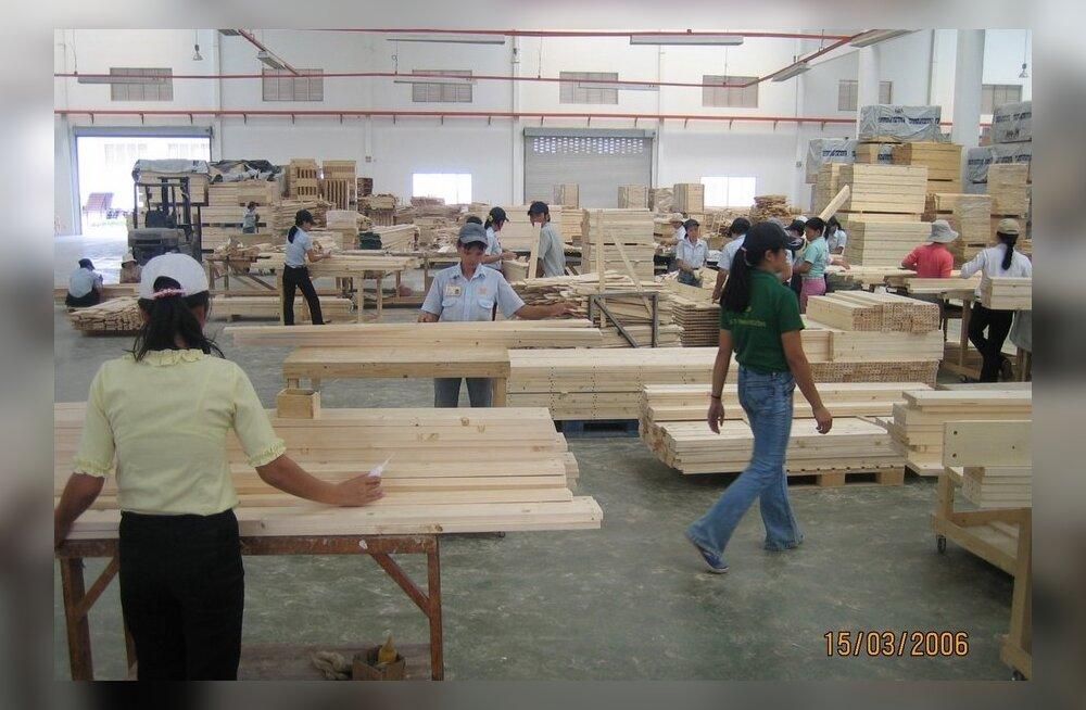 Kuidas pääseda puidutoodetega Hiina turule?