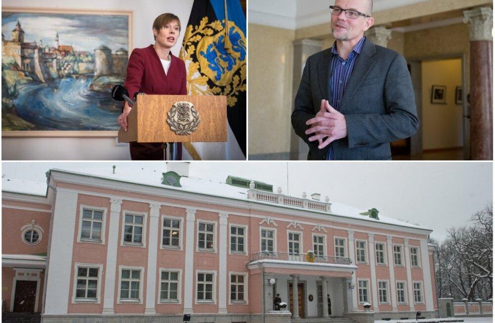 Кальюлайд повысила зарплату директора президентской канцелярии до 4400 евро