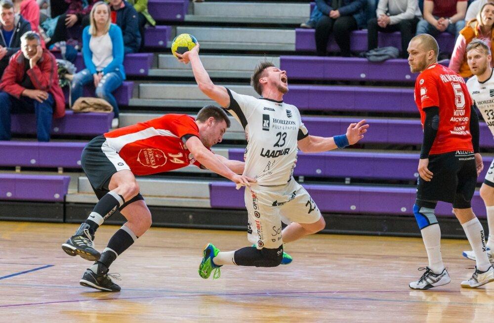 Eesti käsipalli meistriliiga 1. finaalmäng Põlva Serviti - Kehra