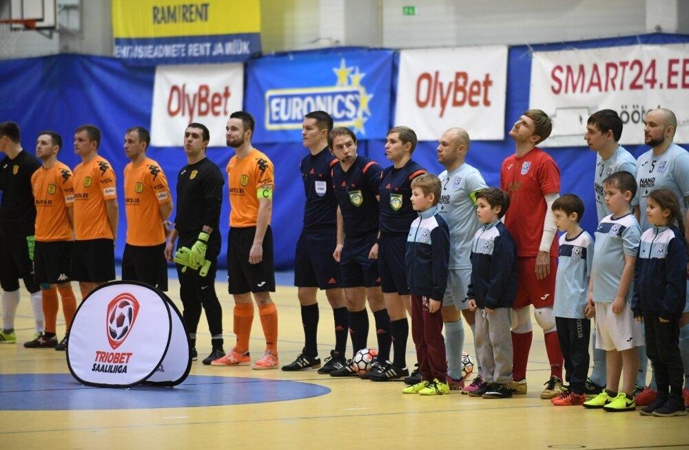 Narva United vs Cosmos final