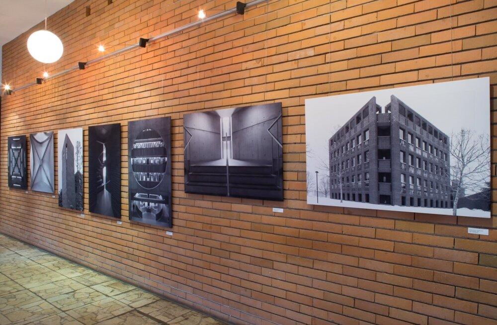 Arne Maasiku Kahni-projekt. Fotod Tallinna Ülikooli akadeemilise raamatukogu galeriis