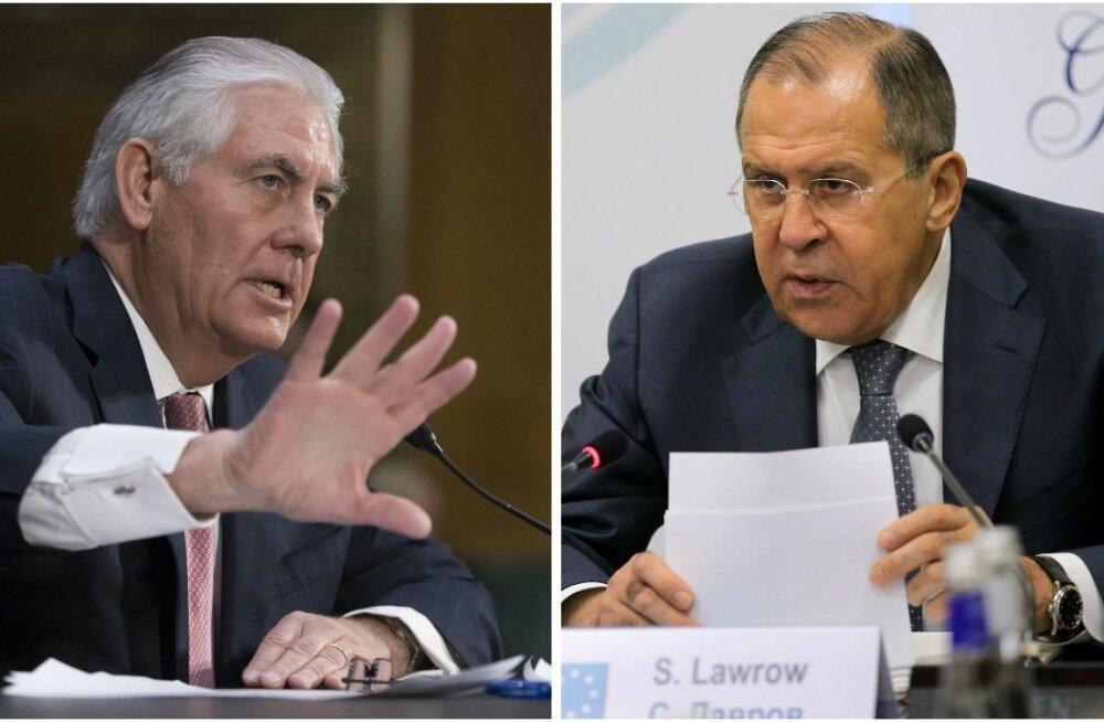 Tillerson ja Lavrov