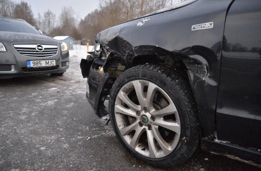 Ettevaatust! Tallinnas on teed libedad, kloriide nii külma ilmaga ei kasutata
