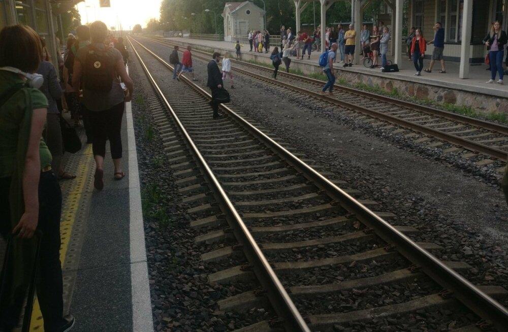 Tartu raudteejaama seisak