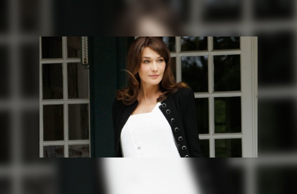 Carla Bruni-Sarkozy paljastas tütre nime