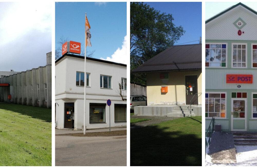 FOTOD | Kas need postkontorid jäävad kindlasti alles? Kinnisvarakuulutused annavad alust nii arvata