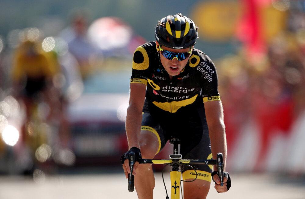 BLOGI | Tubli sõidu teinud Rein Taaramäe sai Tour de France'i mägisel etapil kolmanda koha