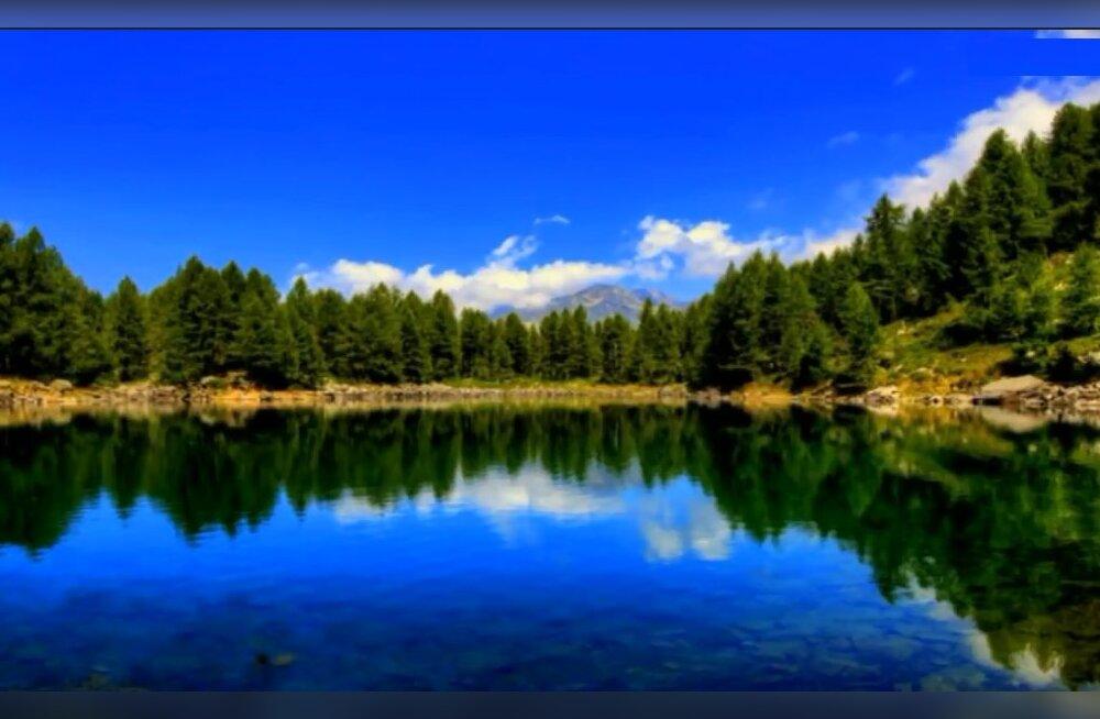 В Италии исчезло знаменитое альпийское Голубое озеро
