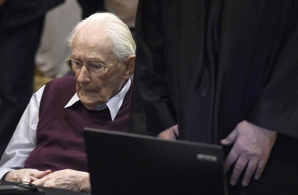 96-aastane Auschwitzi raamatupidaja kuulutati kohtus võimeliseks vanglakaristust kandma
