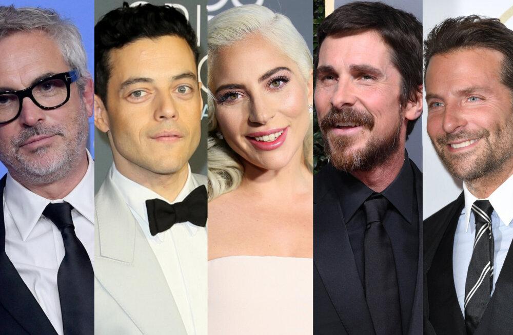 """Tänavused nominendid selged! Enim kuldmehikesi jahib """"Roma"""", Lady Gagal ja Rami Malekil võimalus elu esimesteks Oscariteks"""
