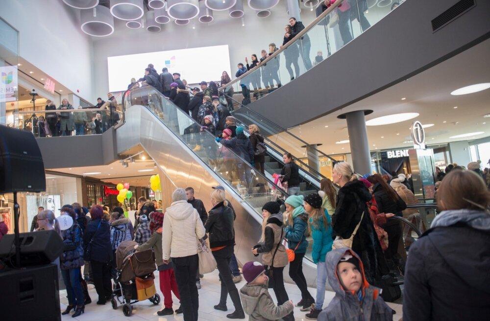 Kolmandik eestlastest leiab, et kaubanduskeskused pole piisavalt turvalised