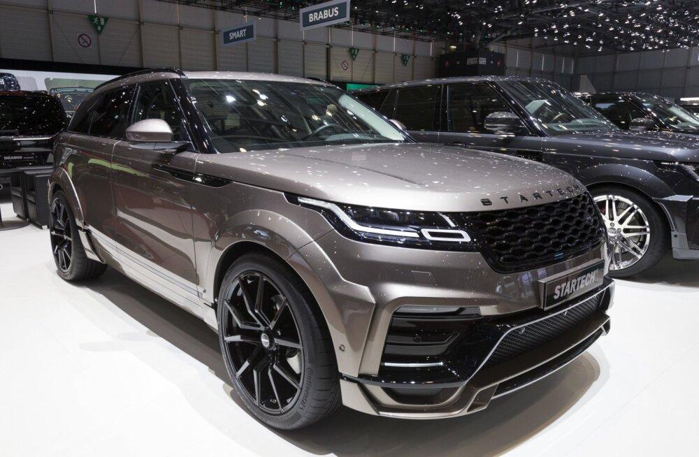 Range Rover Velar valiti 2018. aasta maailma kaunima disainiga autoks