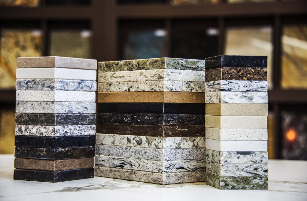 Graniit, marmor või paekivi? Looduskivide omadused ja kasutuskohad