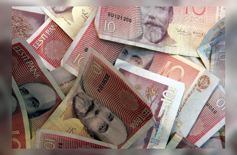 Raha sisaldanud kiri jõudis saajani pärast rahavahetust