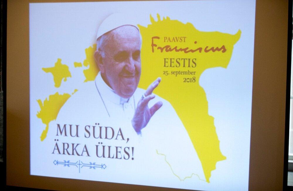 Paavst Franciscuse visiiti ettevalmistav pressikonverents