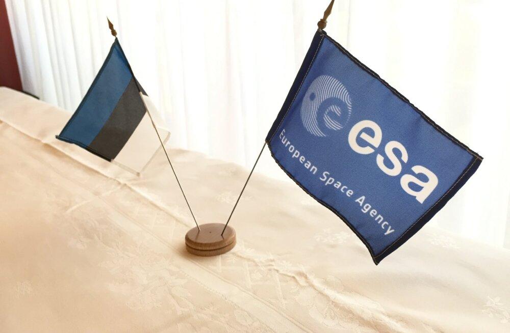 Eesti kirjutas alla liitumislepingule Euroopa Kosmoseagentuuriga