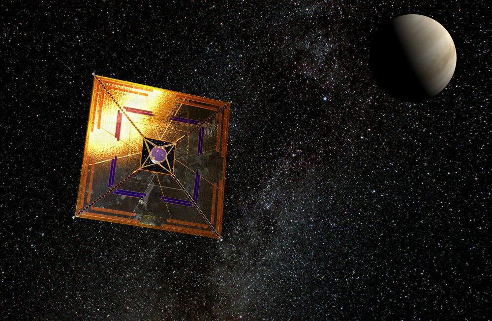 Uus nanofootonmaterjal võib aidata kosmosesondidel jõuda valguse kiirusele
