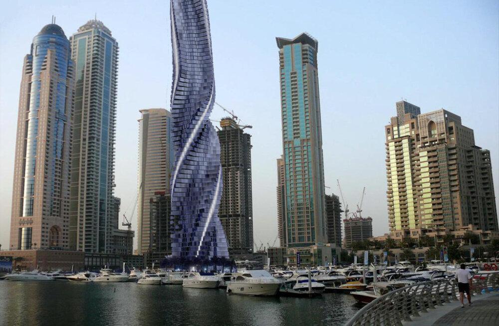 Dubaisse kavatsetakse ehitada liikuv pilvelõhkuja