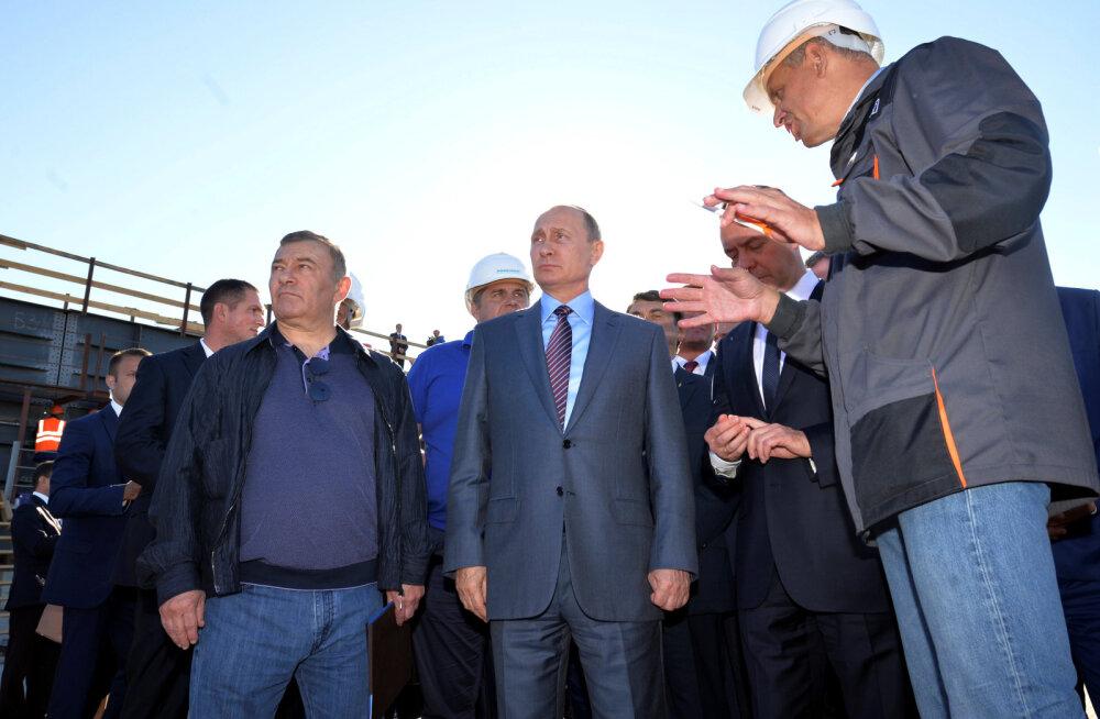 Kes on Vene opositsioonipoliitiku poolt paljastatud vennad Rotenbergid?