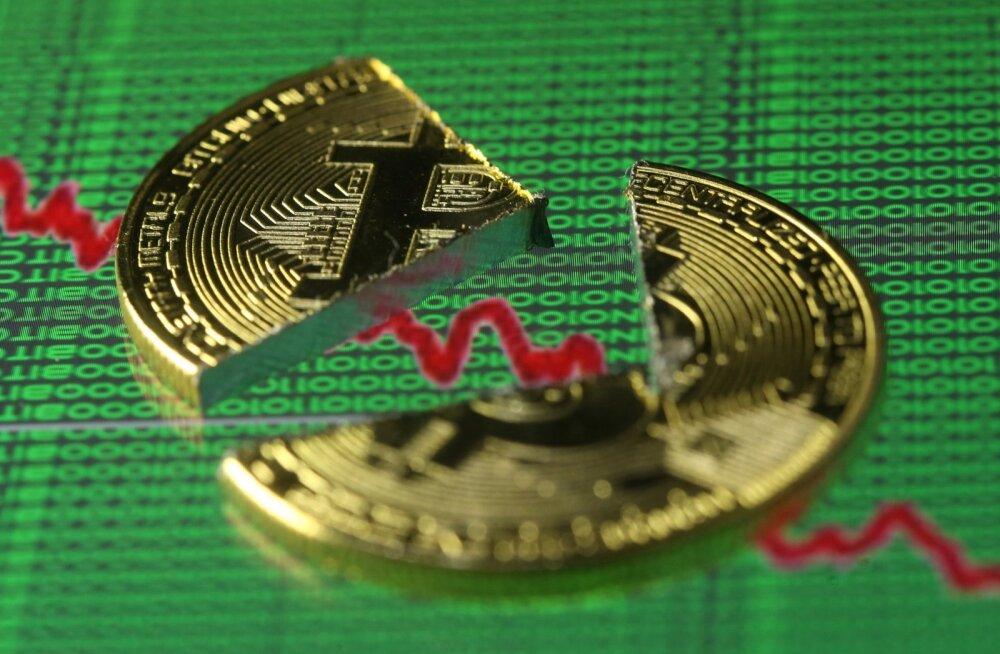 Bitcoin kukkus. Lõuna-Korea kaalub spekulatsioonide lõpetamist krüptoraha kauplemiskohtade sulgemise teel