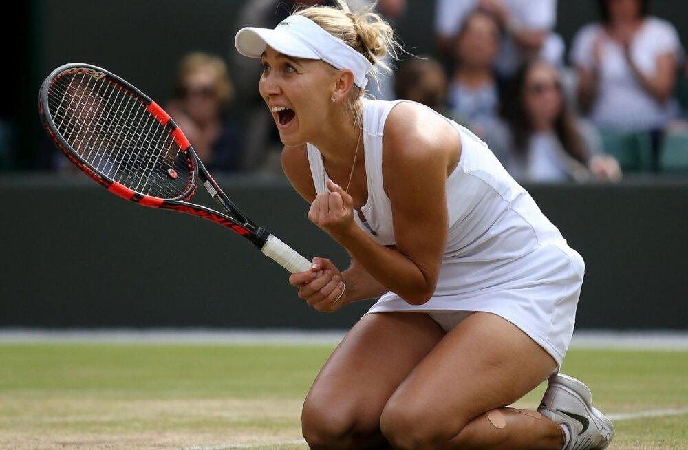 Wimbledoni poolfinalist Jelena Vesnina