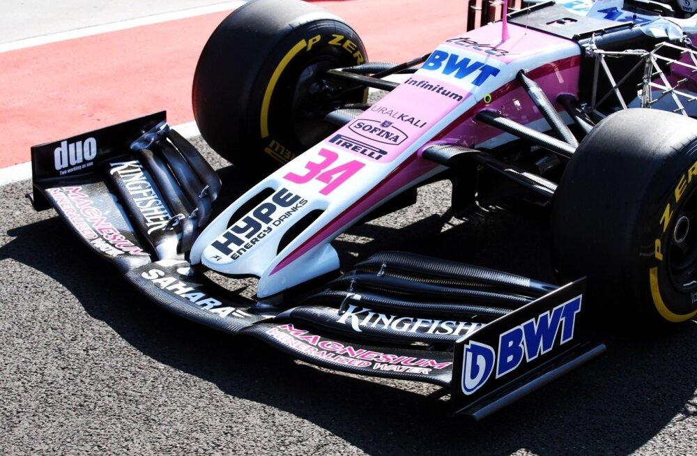 FOTOD   Williams, Force India ja Red Bull testisid Budapestis järgmise aasta esitiibu