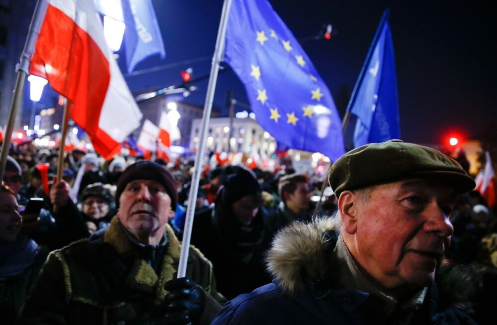 POLAND-POLITICS/PROTESTS