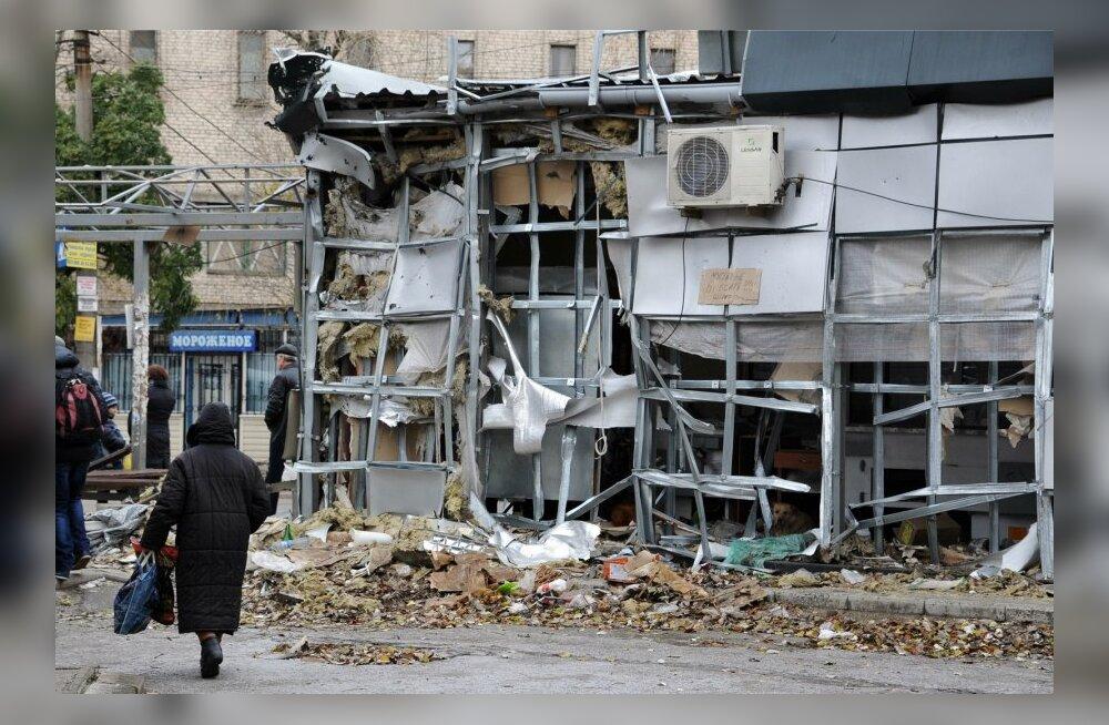 Sõjapurustused Donetskis