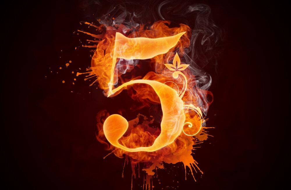Täna on 5.05! Mis on selle numbri ajalooline, vaimne ja numeroloogiline tähendus?