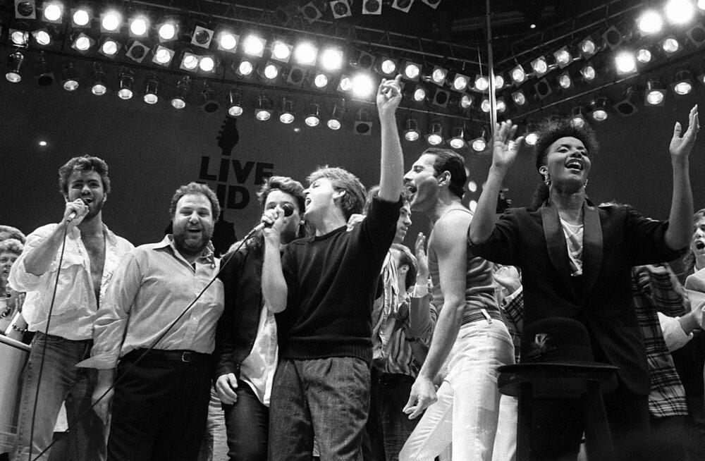 1985. aasta 13. juuli kontserdi Live Aid finaal Wembley staadionil.
