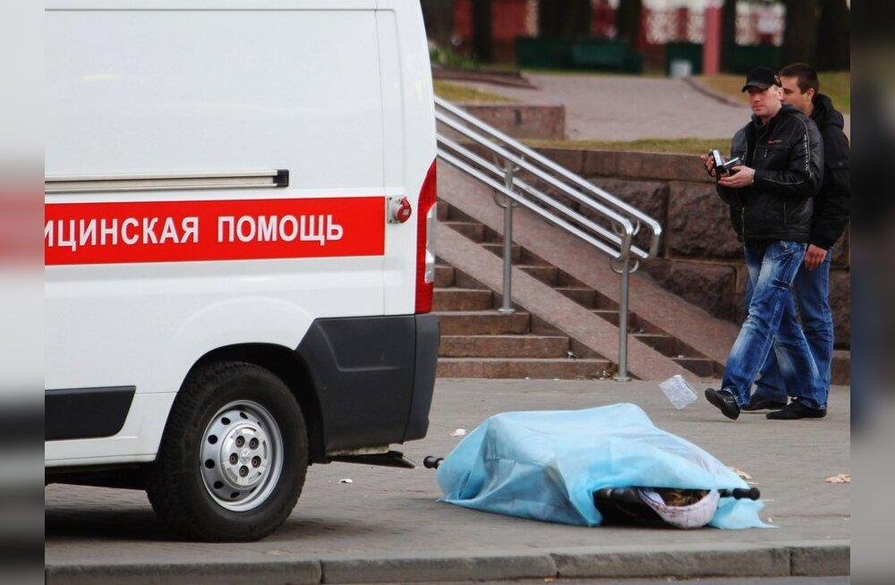 Avaldati üheksa Minski metrooplahvatuses hukkunu nimed