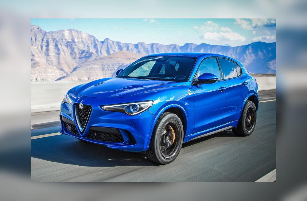 PROOVISÕIT   Alfa Romeo Stelvio Quadrifoglio: maailma kiireim linnamaastur