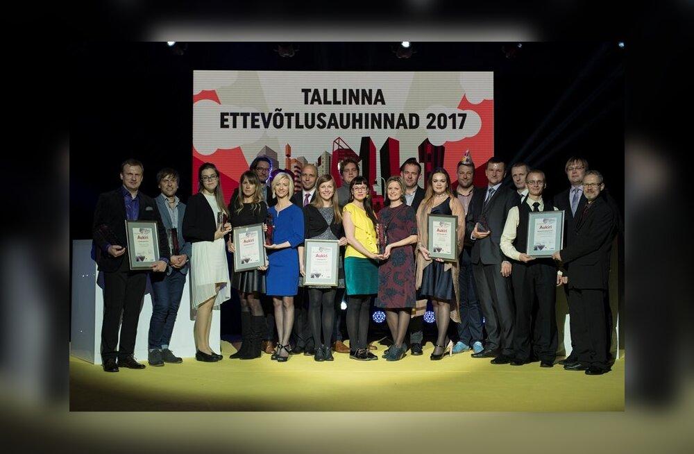 Таллинн наградил лучших предпринимателей года