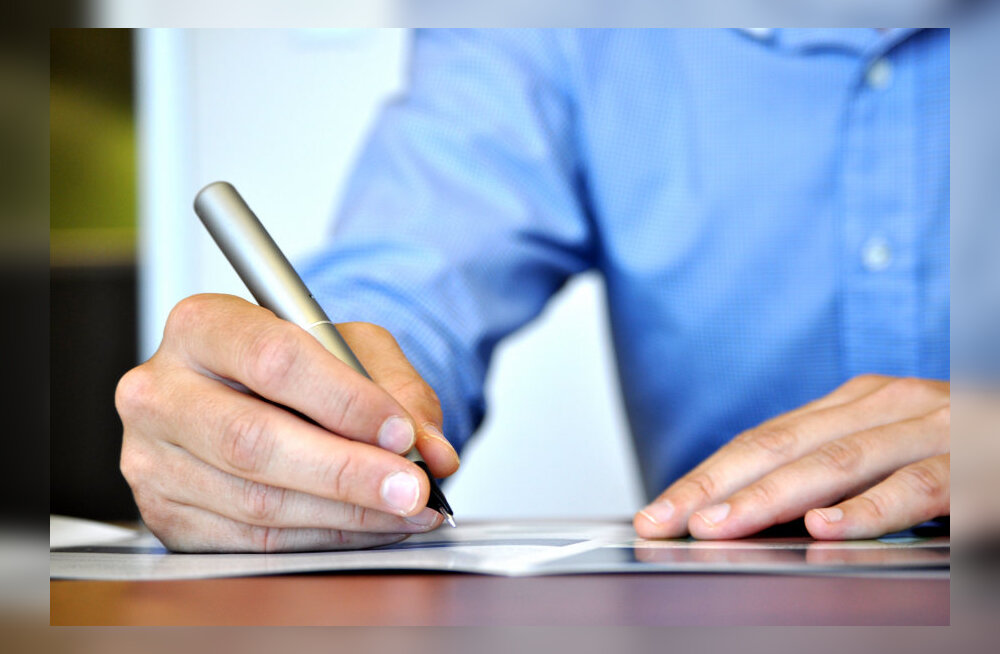 Mismoodi paneb allkirja inimene, kes kirjutada ei saa?