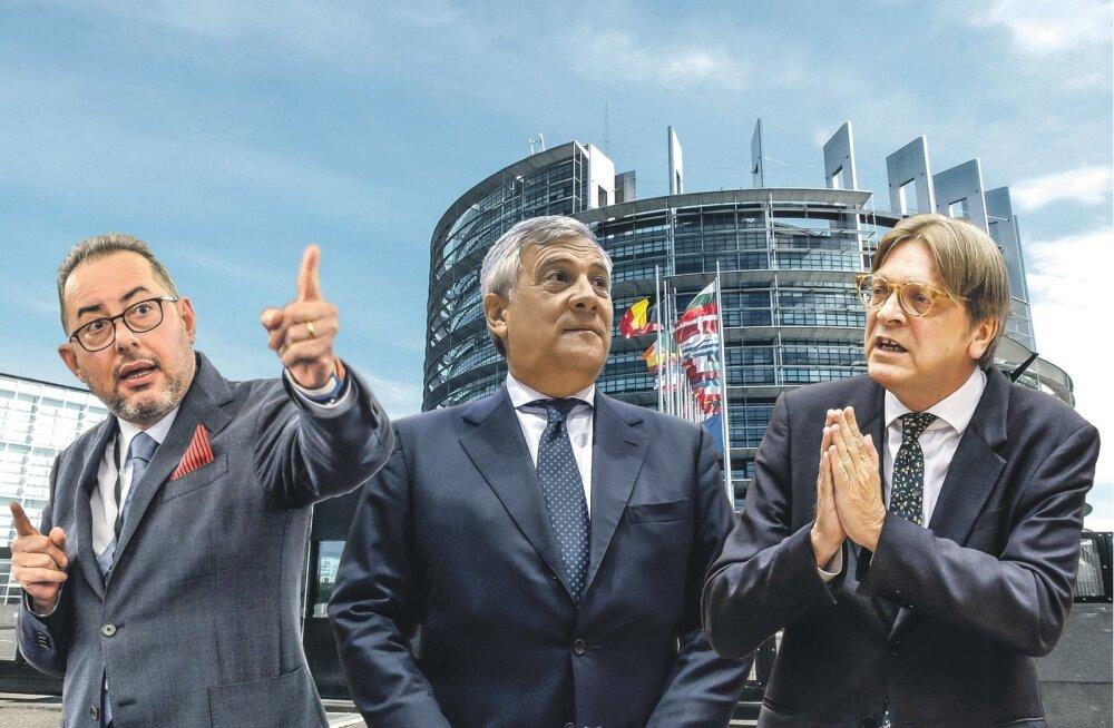 17. jaanuaril toimuvatel europarlamendi presidendi valimistel ihkavad presidendi kohta nii Gianni Pittella, Antonio Tajani kui ka Guy Verhofstadt.